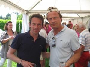 Déjà vainqueur en 2010, Pierjean Frison, ici en compagnie de Jérôme Piperaud, a récidivé, en net, lors de cette 4e édition.