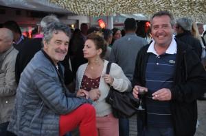 Bruno Saby et Olivier Abautret ont l'air d'apprécier
