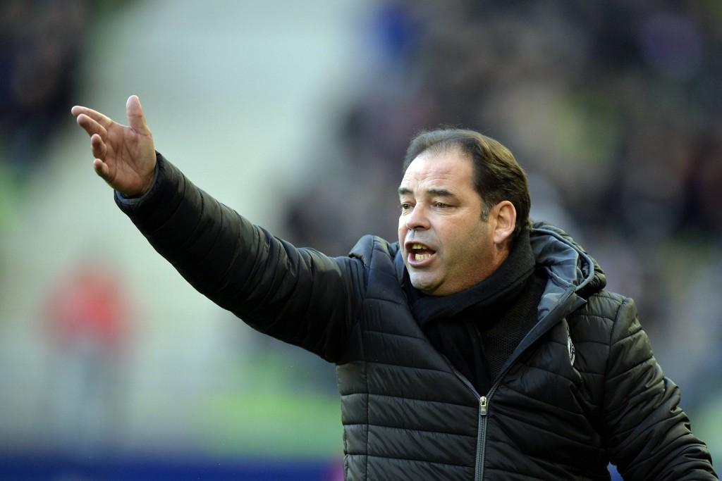 A la tête d'Angers SCO, Stéphane Moulin tire le meilleur de son équipe depuis plus de deux ans.