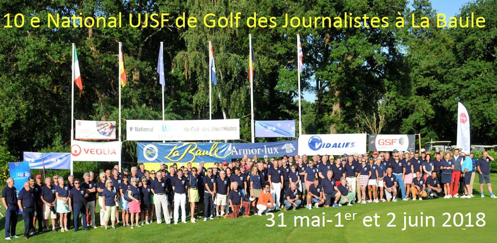 10e National UJSF de Golf à La Baule