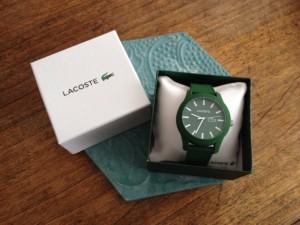 Des montres offertes par Lacoste sont venues récompenser de nombreux lauréats.