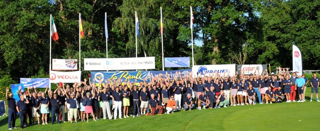 140 joueurs se sont affrontés sur les greens du golf international Lucien-Barrière. 134 ont été classée.