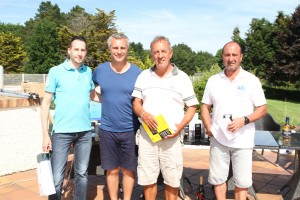 Guillaume Babulle, Yann Delaigue, Patrick Poulain et Bruno Baronchelli ont dominé la catégorie VIP 2.