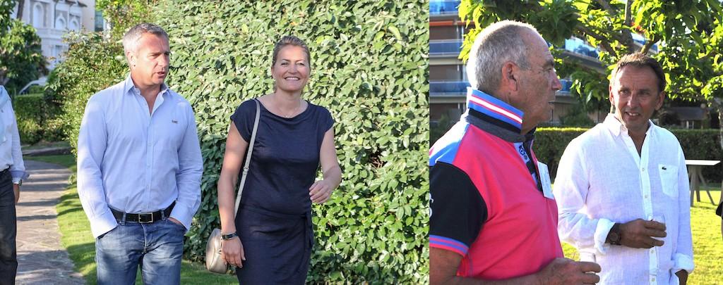 Yann Delaigue et Astrid Bard