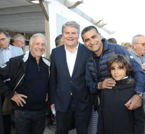 .. mais également les Corses Michel Luccioni et Patrice Roubaud