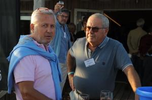 Jean-François Bennetot (directeur de la communication de GSF) et Jean-Jacques Potrel