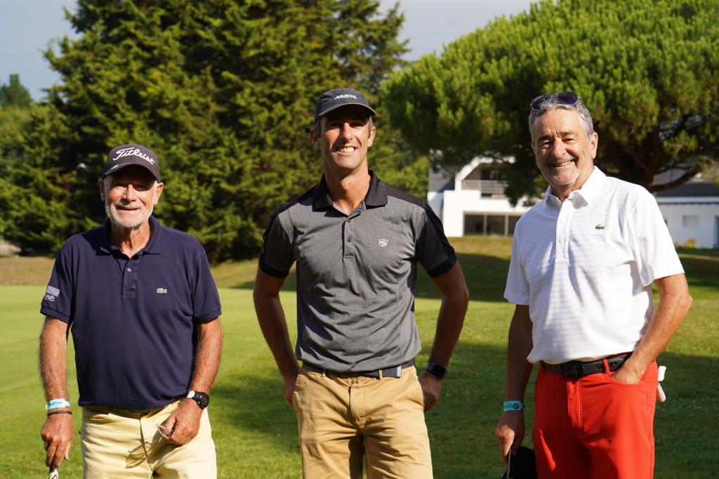 Un ancien maire, Yves Métaireau, un vainqueur du Vendée Globe, Armel Le Cléac'h, un autre du Dakar, du Monte Carlo et du Tour de Corse, Bruno Saby. On beaucoup parlé sport dans cette partie. Au détriment peut-être de la « perf » golfique….
