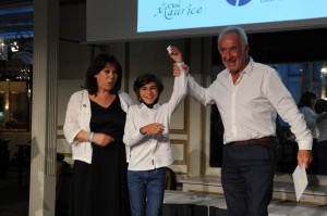 Gérard Fusil peut remercier le petit Jules et Lilia Millier