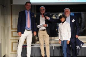 Le gros lot pour Pierre Chaudesaygues, félicité par Laurent Garrido.